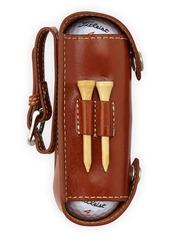 Neiman Marcus Leather Golf Case