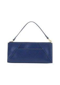 Neiman Marcus Leather Travel Clutch Bag