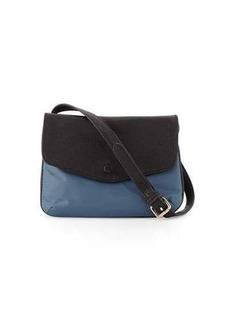 Neiman Marcus Marni Fold-Over Nylon Crossbody Bag