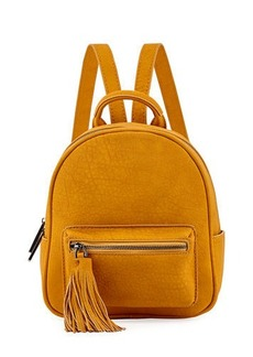 Neiman Marcus Matte Pebbled Mini Backpack