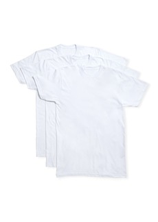 Neiman Marcus Men's 3-Pack Cotton Stretch T-Shirts