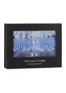 Neiman Marcus Men's 3-Pack Tagless Cotton Boxers