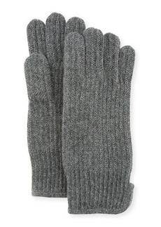 "Neiman Marcus Men's Cashmere 11"" Gloves"