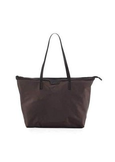 Neiman Marcus Miley Nylon Zip-Top Tote Bag