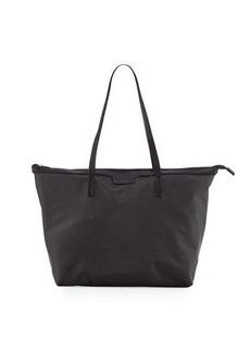 Neiman Marcus Miley Nylon Zip-Top Tote Bag