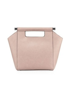 Neiman Marcus Minimalista Top-Handle Tote Bag