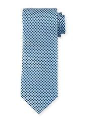 Neiman Marcus Mod Silk Tie