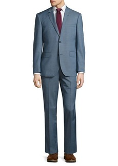 Neiman Marcus Modern-Fit Two-Button Two-Piece Suit