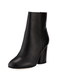Neiman Marcus Niana Smooth Leather Bootie