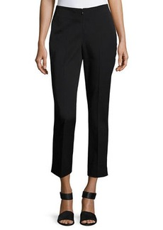 Neiman Marcus No-Waist Invisible-Fly Ankle Trousers