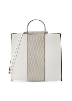 Neiman Marcus PALOMA GOLD-HANDLE NS TOTE