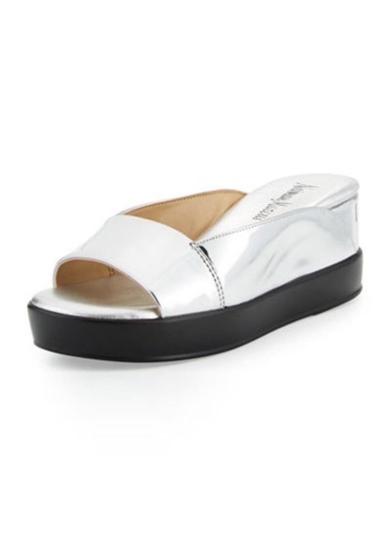 Neiman Marcus Pammelah Platform Slide Sandal