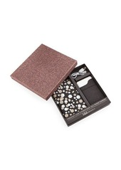 Neiman Marcus Passport Case & Power Bank Cell Phone Charger Boxed Set