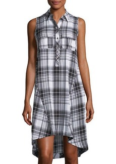 Neiman Marcus shirt collar bf dress