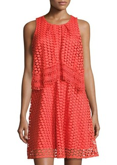 Neiman Marcus Popover Lace Dress