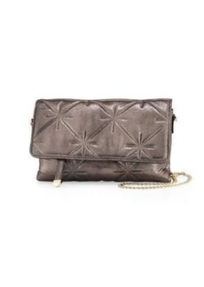 Neiman Marcus Quilted Chain-Strap Crossbody Bag