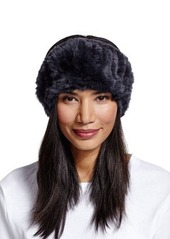Neiman Marcus Rabbit-Fur Headband