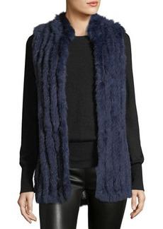 Neiman Marcus Rabbit Fur Vest