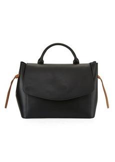 Neiman Marcus Ruga Leather Satchel Bag