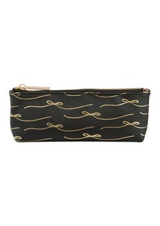 Neiman Marcus Saffiano Conversation Pencil Case