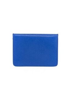 Neiman Marcus Saffiano Mirror Bi-Fold Wallet