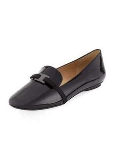 Neiman Marcus Selvia Patent Slip-On Flat