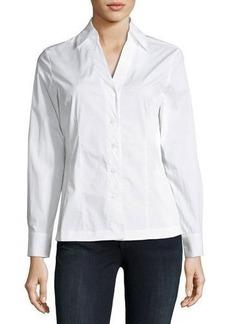 Neiman Marcus Signature Poplin Shirt