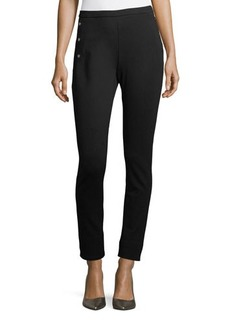 Neiman Marcus Skinny Sailor Pants