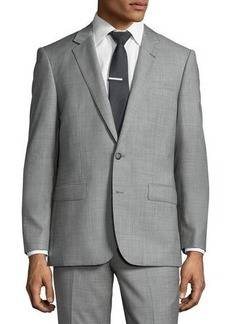 Neiman Marcus Slim-Fit Two-Piece Suit
