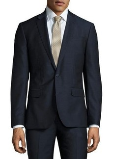Neiman Marcus Slim-Fit Two-Piece Wool Suit