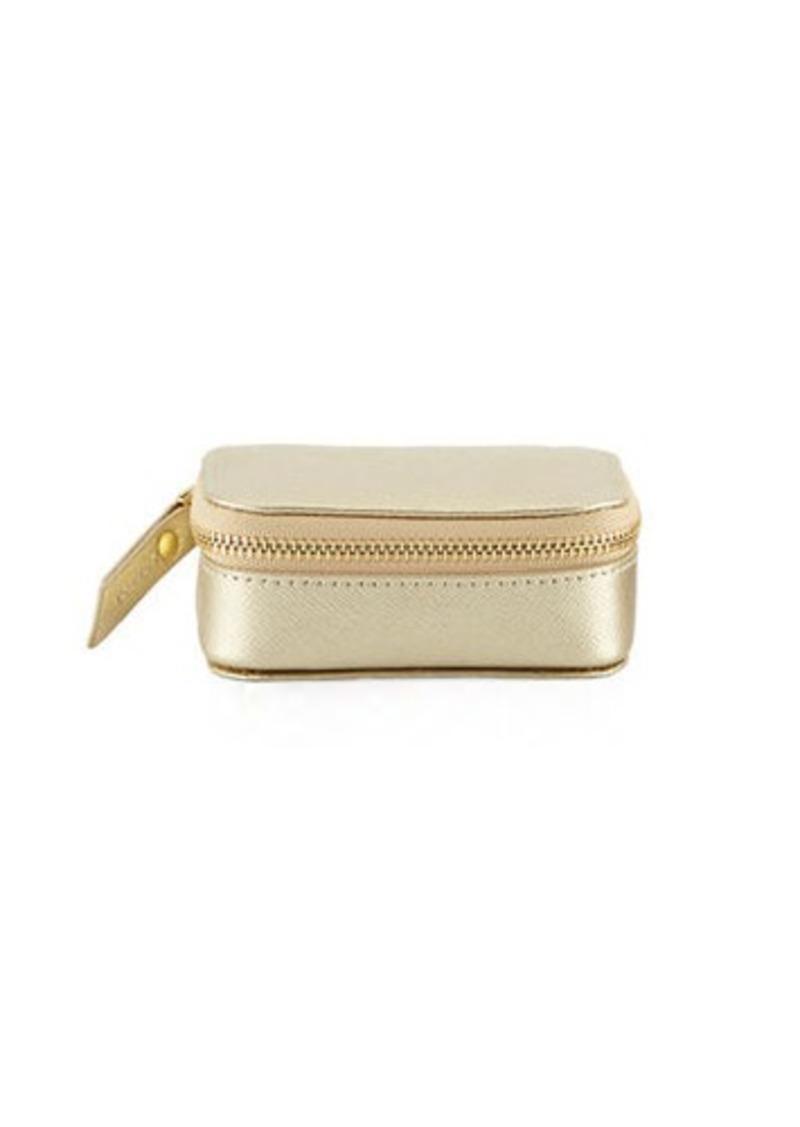 Neiman Marcus Neiman Marcus Small Saffiano Leather Pill Case  633b7671ab439