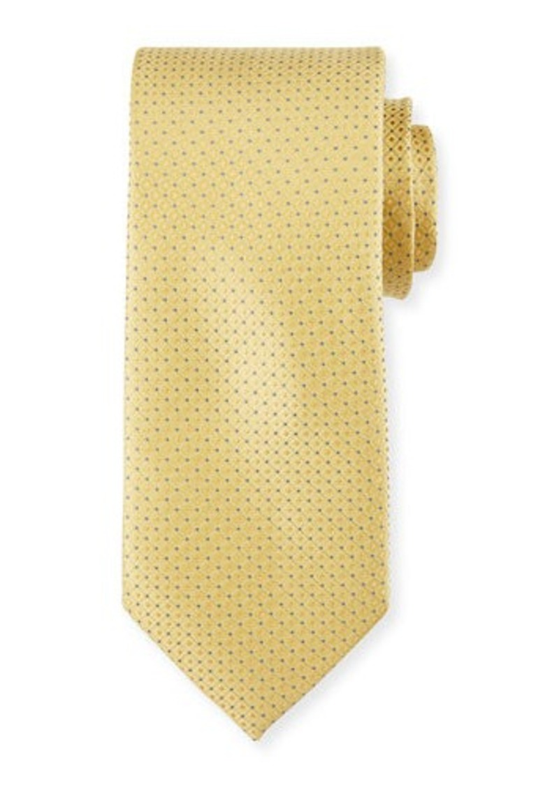 Neiman Marcus Square and Dotted Silk Tie
