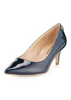 Neiman Marcus Stroll Low-Heel Pump