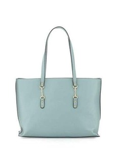 Neiman Marcus Tiller Faux-Leather Tote Bag