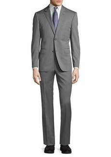 Neiman Marcus Two-Button Modern-Fit Suit