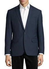 Neiman Marcus Wool Two-Button Sport Coat