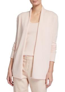 Neiman Marcus Plus Size Cashmere Open Cardigan