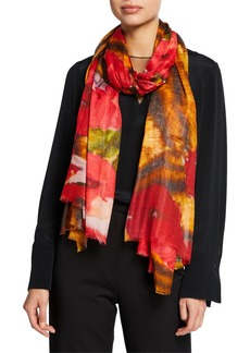 Neiman Marcus Printed Scarf