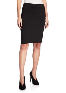 Neiman Marcus Pull-On Pencil Skirt