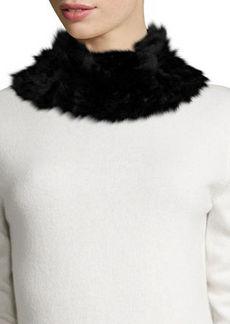Neiman Marcus Rabbit Fur Cowl