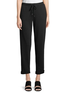 Rolled-Cuff Jogger Pants