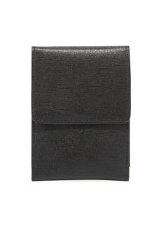Neiman Marcus Saffiano Leather Manicure Set