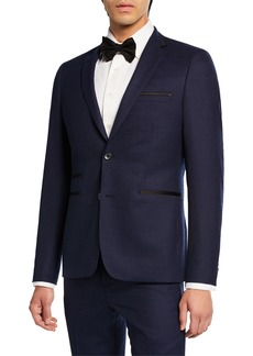 Neiman Marcus Slim-Fit Neat 2-Piece Suit