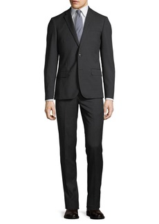 Neiman Marcus Slim-Fit Pinstriped Suit