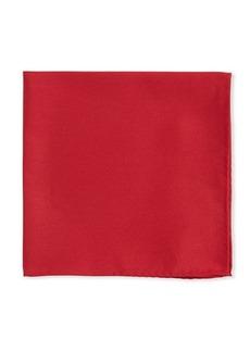 Neiman Marcus Solid Silk Twill Pocket Square