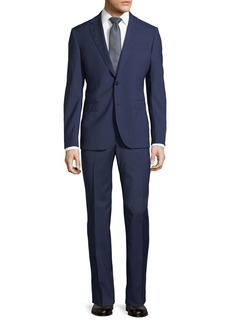 Neiman Marcus Solid Wool Two-Piece Suit