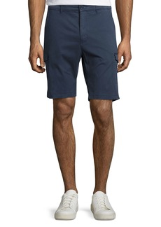 Neiman Marcus Stretch-Cotton Cargo Shorts