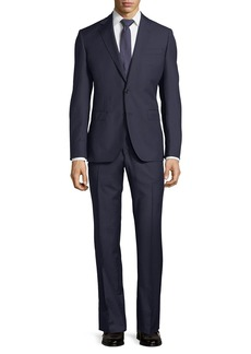 Neiman Marcus Striped Wool Two-Piece Suit