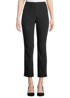 Neiman Marcus Tribecca Tech Austin Straight-Leg Pants