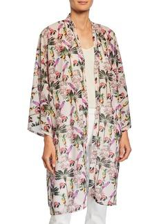 Neiman Marcus Tropics 2 Marbella Kimono